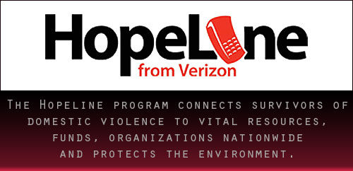 Hopeline Program From Verizon