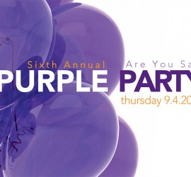 2014 Purple Party Event